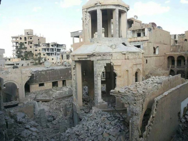US Strongly Condemns Destruction of Der Zor Church by ISIS