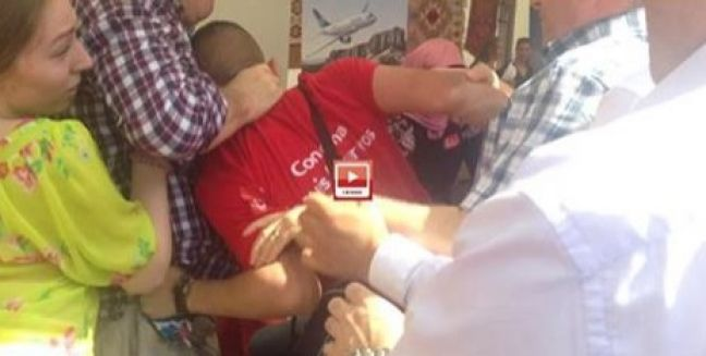 Turkish General Consul Attacks Armenian Activists of Nor Serount in France (video)