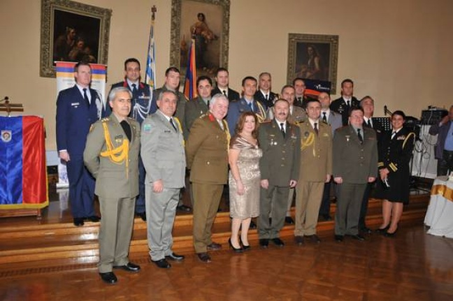 23rd Celebration of Armenian Armed Forces in Greece