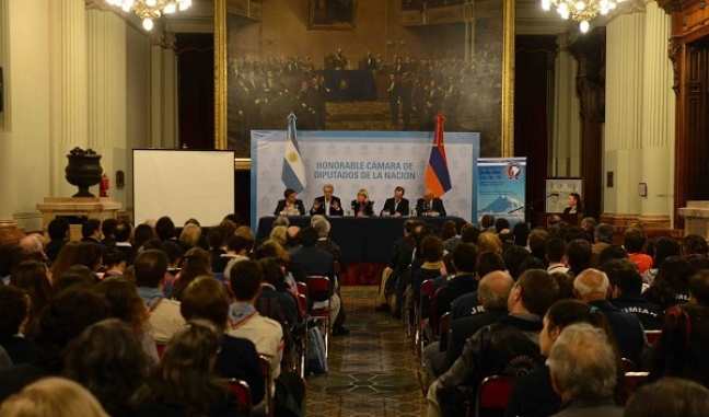 Armenian Genocide commemorated in Argentinean National Congress