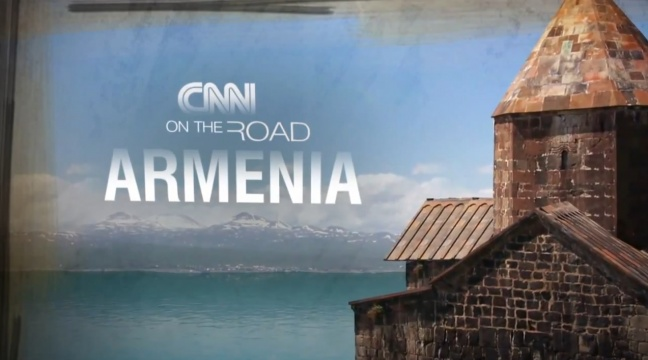 CNN on the road Armenia