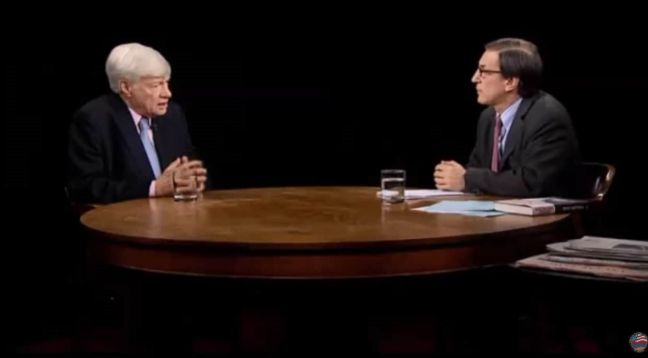 Geoffrey Robertson QC Discusses the Armenian Genocide on the Charlie Rose Show