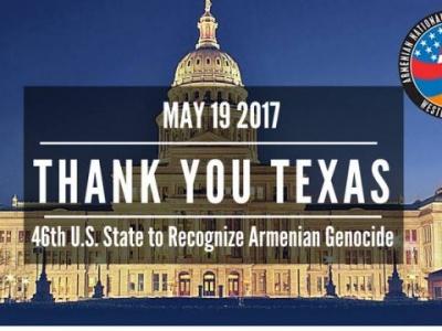 Το Τέξας έγινε 46η πολιτεία που αναγνώρισε τη Γενοκτονία των Αρμενίων