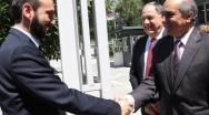 Επέκταση της τριμερούς Κύπρου-Αρμενίας-Ελλάδας επιδιώκουν Συλλούρης και Μιρζογιάν