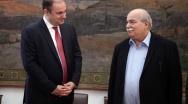 Συνάντηση του Προέδρου της Βουλής με τον νέο Πρέσβη της Αρμενίας