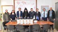 Αντιασφυξιογόνες μάσκες δώρισε η Αρμενική Κοινότητα Κομοτηνής στην Αστυνομία