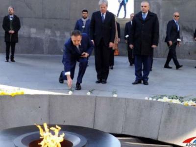 Φόρο τιμής στα θύματα της Γενοκτονίας των Αρμενίων από τον Ιταλό ΥΠΕΞ